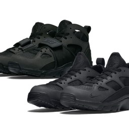 "Nike Air Trainer Huarache ""Blackout"""