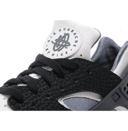 Nike Air Huarache Black/White-Dark Grey